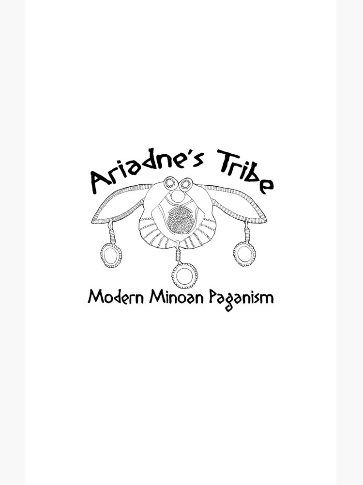 Modern Minoan Paganism Official Logo by MsLauraPerry