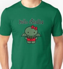 Hello Cthulhu! Unisex T-Shirt