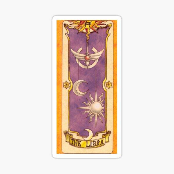 "Clow card ""The Libra"" Sticker"