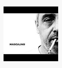 Masculino Photographic Print