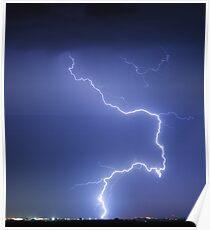 Nature Strikes Poster