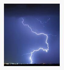 Nature Strikes Photographic Print