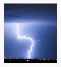 C2G Lightning Strike Photographic Print