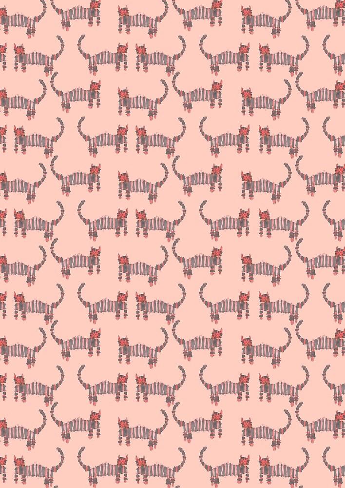 Rinjani's Cat Pattern by The Babybirds