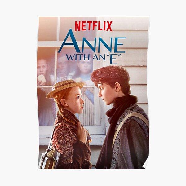 Anne con un póster E Póster