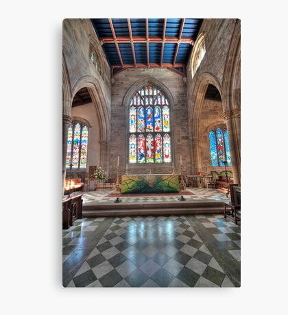 Lancaster Priory Canvas Print