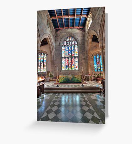 Lancaster Priory Greeting Card