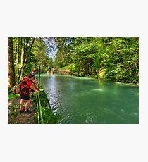 River Partnach, Garmisch, Germany Photographic Print