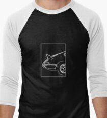 Porsche 911 2.7 RS - The Business End. (White) Men's Baseball ¾ T-Shirt