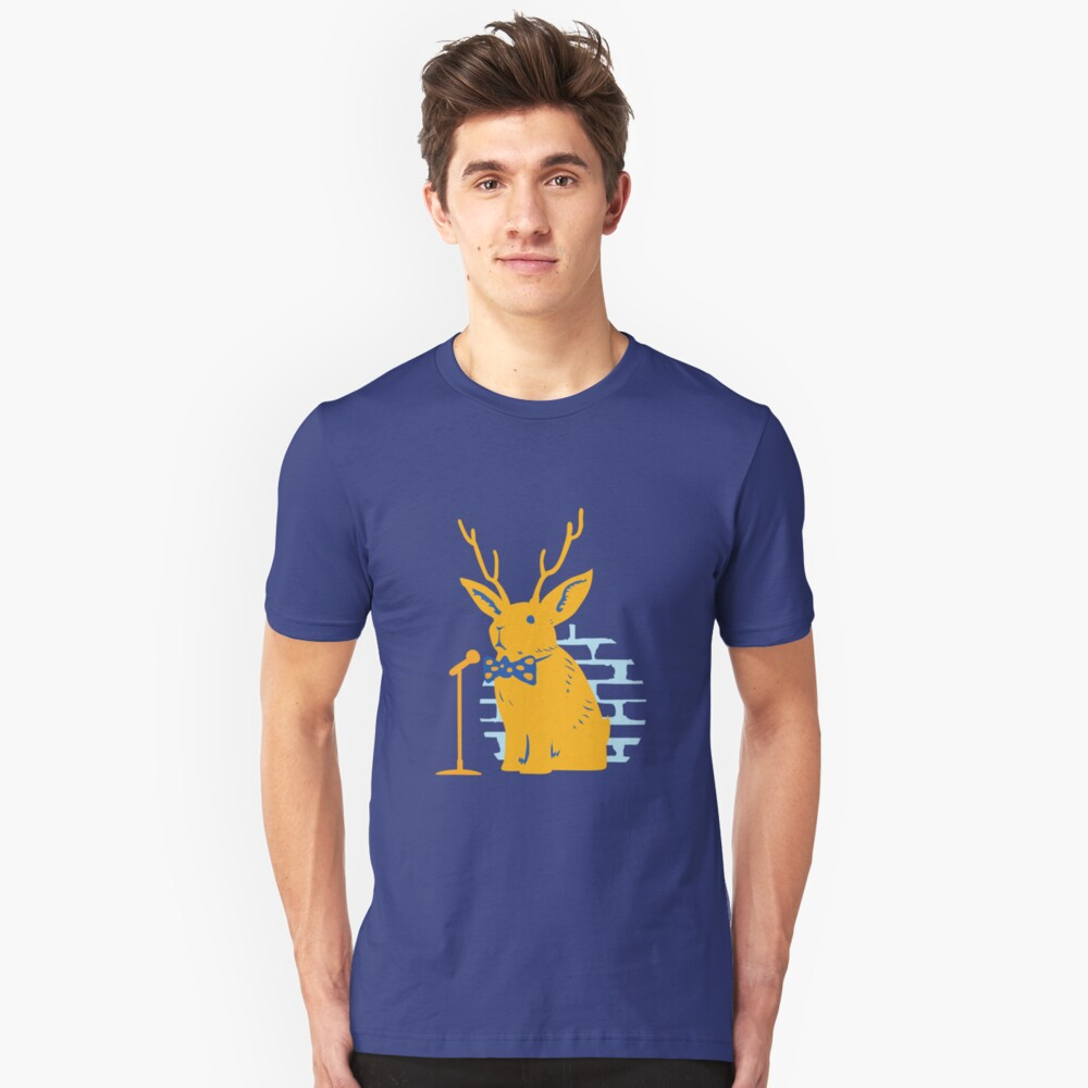 The Rare and Elusive Jokealope Slim Fit T-Shirt