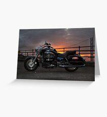 Sunset Rider Greeting Card