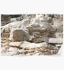Rock Sculptures Poster