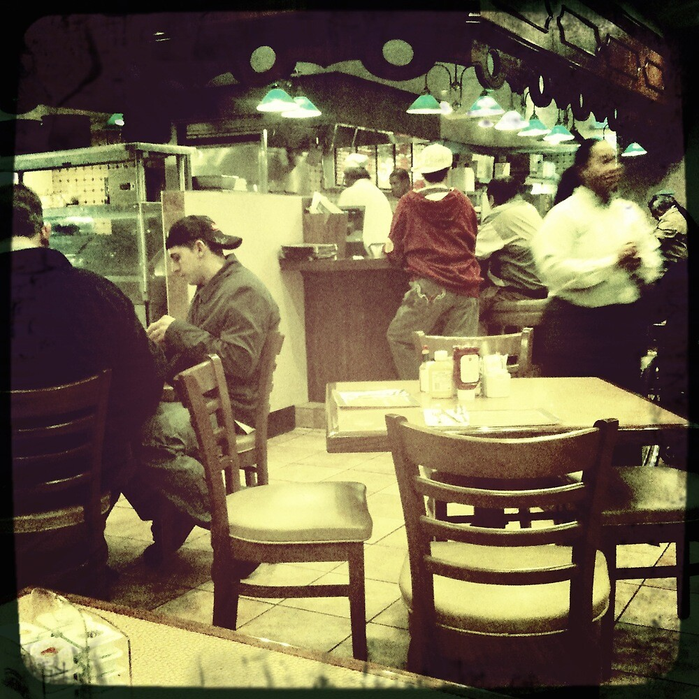 All American Diner In Las Vegas Nevada by Sarah Louise English