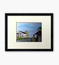 The Boat Yard Framed Print