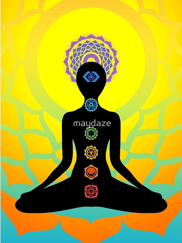 chakras by maydaze
