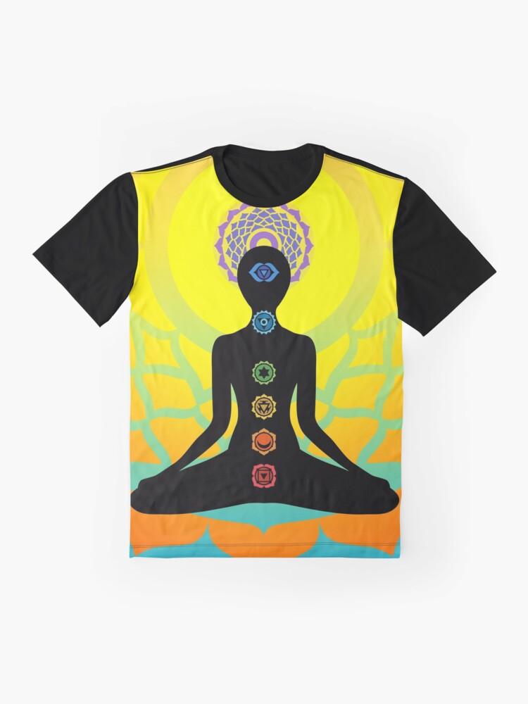 Alternate view of chakras Graphic T-Shirt