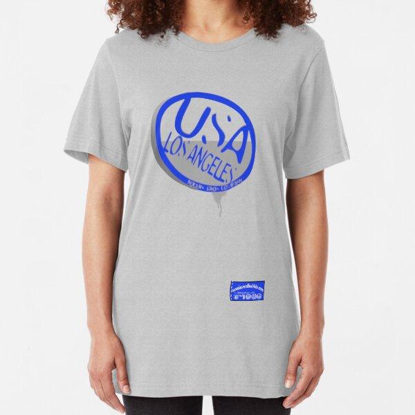 usa la logo by ian rogers Slim Fit T-Shirt
