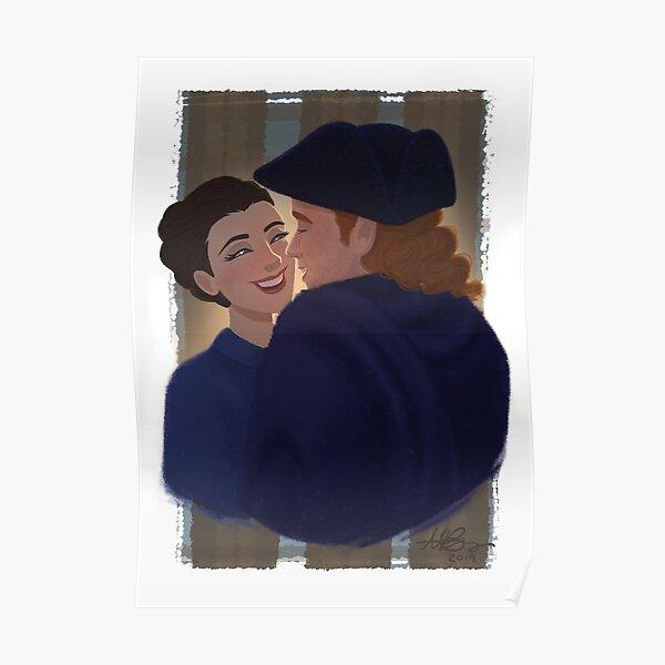 Outlander | Claire et Jamie Poster