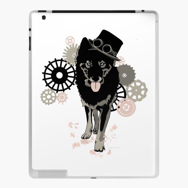 Steam punk wolf  iPad Skin