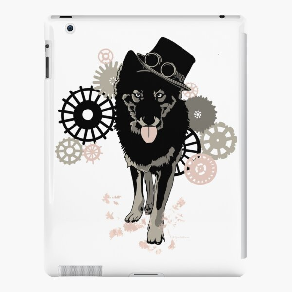Steam punk wolf  iPad Snap Case