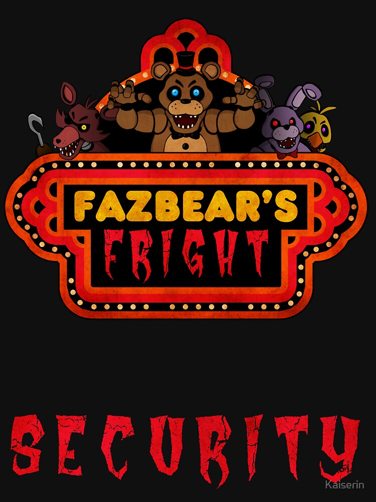 Five Nights at Freddy's - FNAF 3 - Fazbear's Fright Security | Unisex T-Shirt