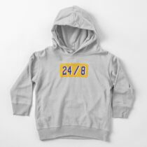 Legends Rip Kobe Never Dies Tribute Black Mamba Out 24 Forever Toddler Pullover Hoodie