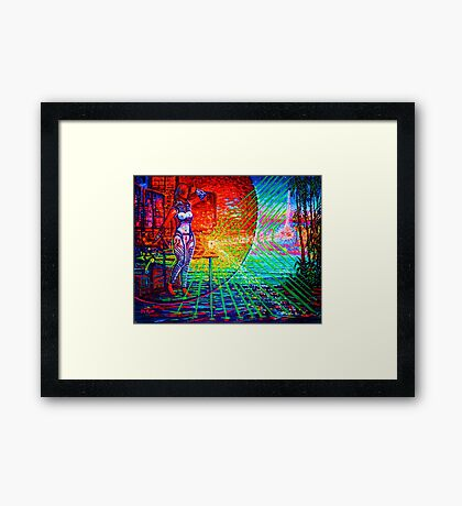 Sojie 13 wip # 6  Framed Print