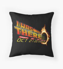 Back to the future day variant Throw Pillow