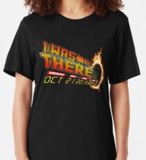 Back to the future day variant Slim Fit T-Shirt