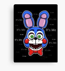 Five Nights at Freddy's - FNAF 2 - Toy Bonnie - It's Me Canvas Print