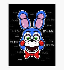 Five Nights at Freddy's - FNAF 2 - Toy Bonnie - It's Me Photographic Print