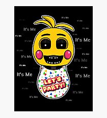 Five Nights at Freddy's - FNAF 2 - Toy Chica - It's Me Photographic Print