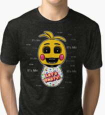Five Nights at Freddy's - FNAF 2 - Toy Chica - It's Me Tri-blend T-Shirt