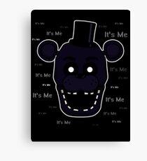 Five Nights at Freddy's - FNAF 2 - Shadow Freddy - It's Me Canvas Print