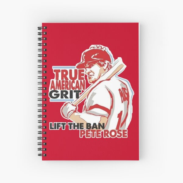 Pete Rose Spiral Notebook