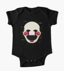 Five Nights at Freddy's - FNAF 2 - Puppet - It's Me Short Sleeve Baby One-Piece