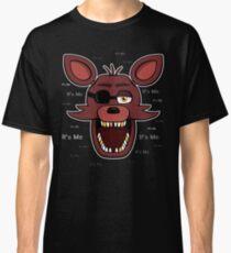 Five Nights at Freddy's - FNAF - Foxy - It's Me Classic T-Shirt