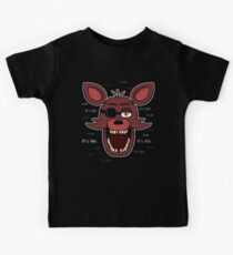 Five Nights at Freddy's - FNAF - Foxy - It's Me Kids Tee