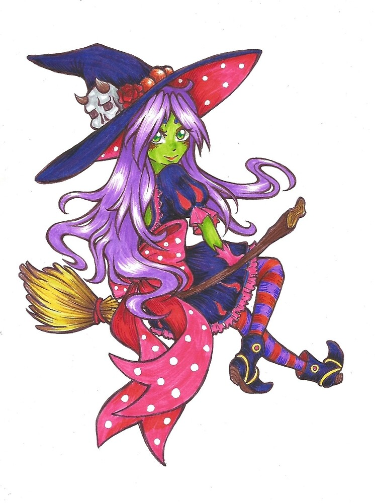 Ruth the witch color by ValentinasWorks