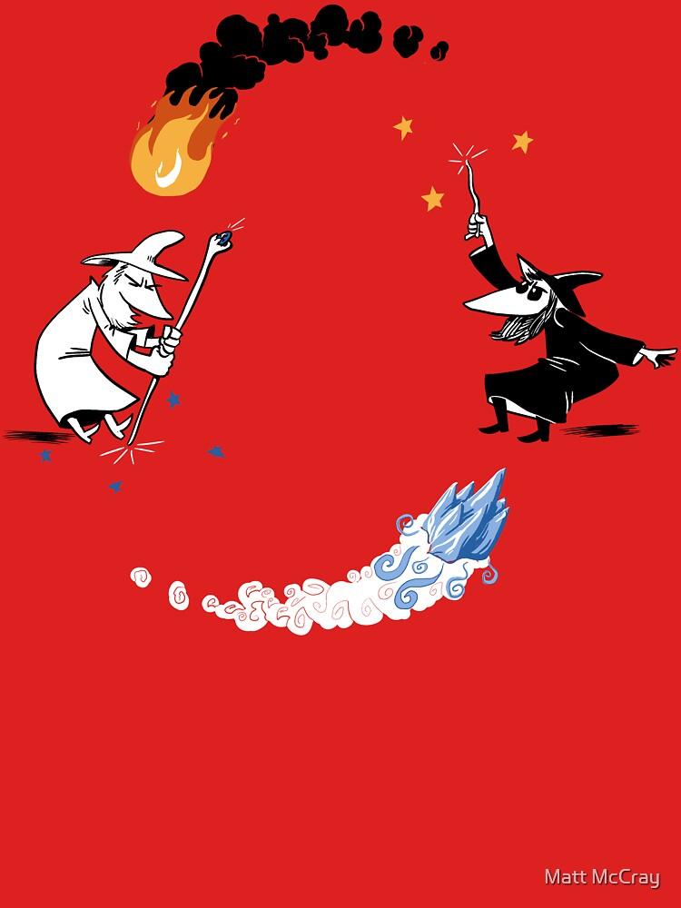 Wizard vs. Wizard by darthapo