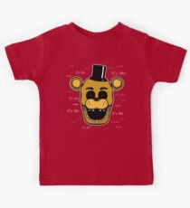 Five Nights at Freddy's - FNAF - Golden Freddy - It's Me Kids Tee