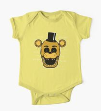 Five Nights at Freddy's - FNAF - Golden Freddy - It's Me One Piece - Short Sleeve
