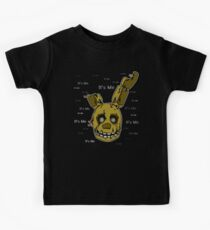 Five Nights at Freddy's - FNAF 3 - Springtrap - It's Me Kids Tee