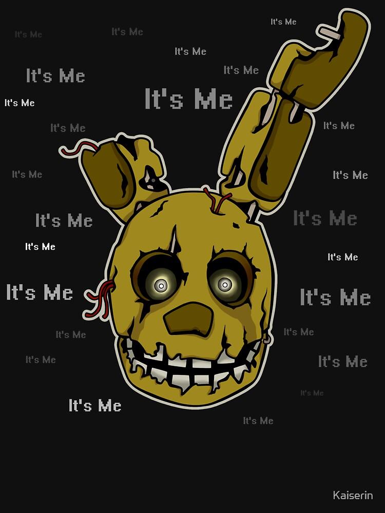 TShirtGifter presents: Five Nights at Freddy's - FNAF 3 - Springtrap - It's Me | Unisex T-Shirt