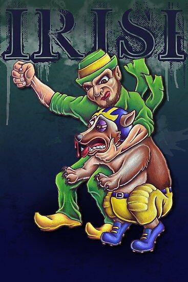 Irish vs Wolverine by mrodewald