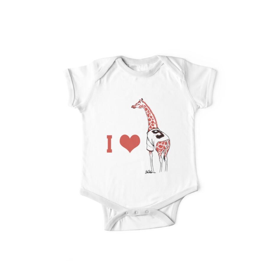 I ♥ Belt Giraffe by swiener