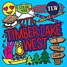 Timber Lake West von Corey Paige Designs