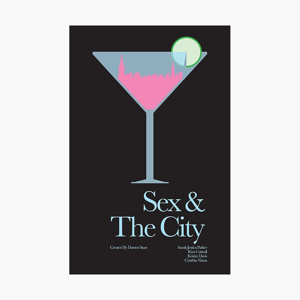 Sexo y la ciudad Lámina fotográfica