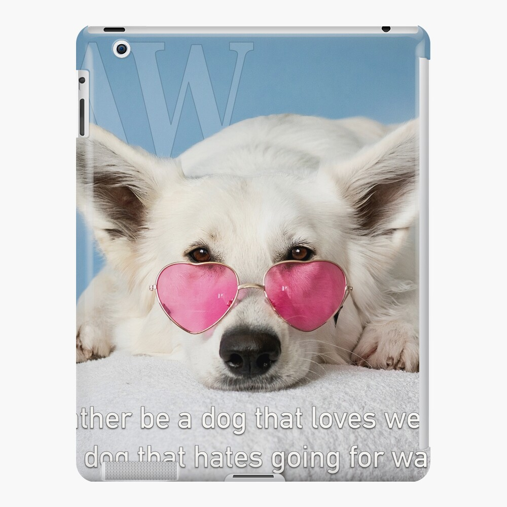 Loves Glasses or Hates Walks iPad Case & Skin