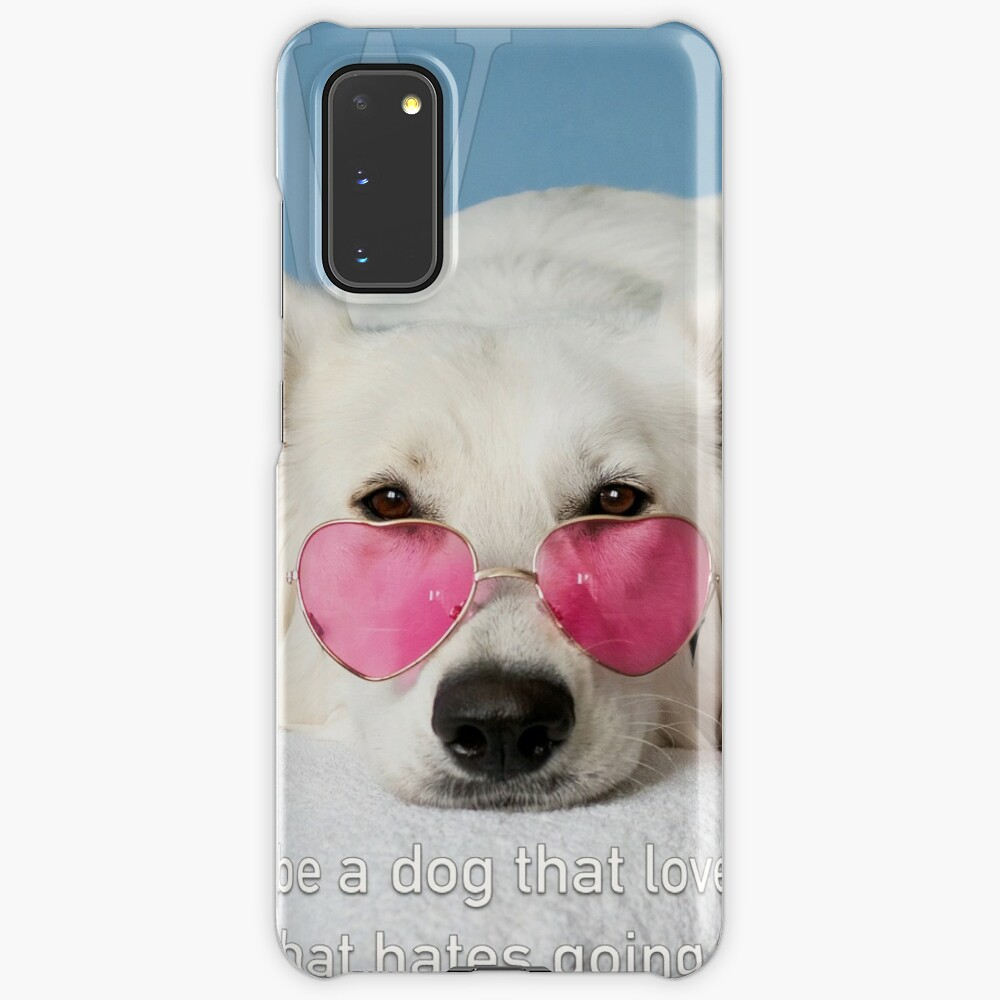 Loves Glasses or Hates Walks Case & Skin for Samsung Galaxy